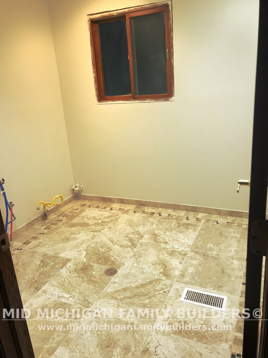 Mid Michigan Family Builders Bathrrom Laundry Project 01