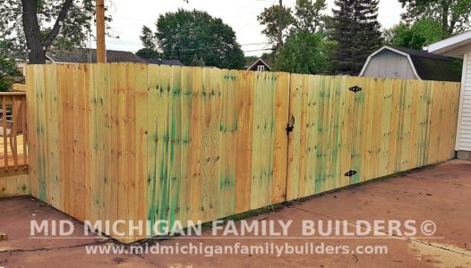 Mid Michigan Family Builder Fence Project 06 2021 01 01