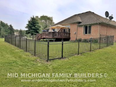 Mid Michigan Family Builders Aluminum Fence 07 2020 01 01