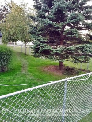 Mid Michigan Family Builders Chain Link Fence Project 10 2020 01 04