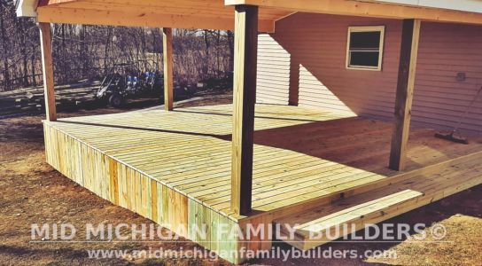 Mid Michigan Family Builders Deck Project 03 2021 01 01