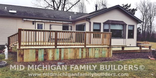 Mid Michigan Family Builders Deck Project 03 2021 02 02