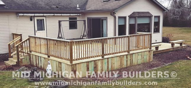 Mid Michigan Family Builders Deck Project 03 2021 02 03