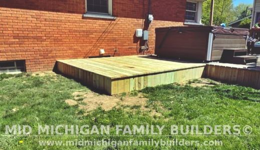Mid Michigan Family Builders Deck Project 05 2021 01 03