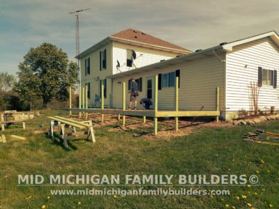 Mid Michigan Family Builders Deck Project 05 21 2018 02