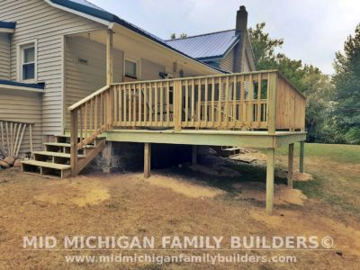Mid Michigan Family Builders Deck Project 07 2020 01 02
