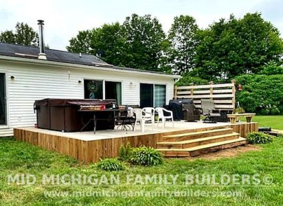 Mid Michigan Family Builders Deck Project 07 2021 02 03