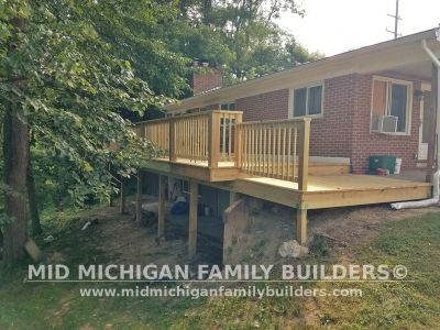 Mid Michigan Family Builders Deck Project 08 2019 02 02