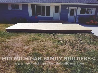 Mid Michigan Family Builders Deck Project 08 2019 03 01