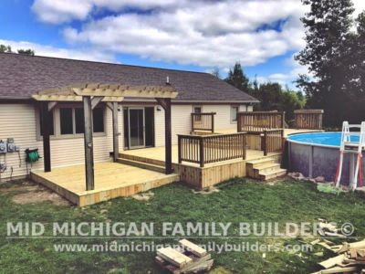 Mid Michigan Family Builders Deck Project 09 2020 02 02
