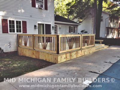 Mid Michigan Family Builders Deck Project 09 2020 03 01