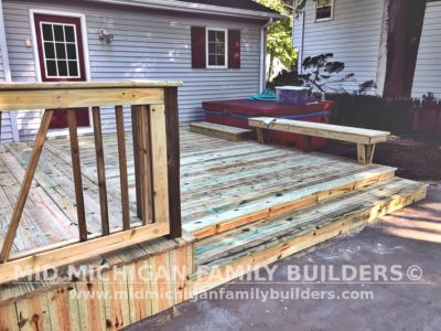 Mid Michigan Family Builders Deck Project 09 2020 03 03
