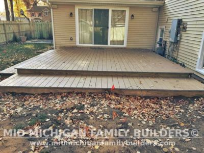 Mid Michigan Family Builders Deck Project 10 2020 02 02