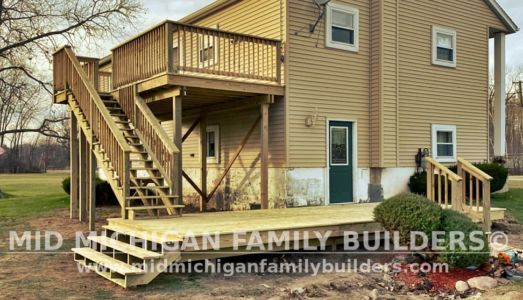 Mid Michigan Family Builders Deck Project 11 2020 01 01