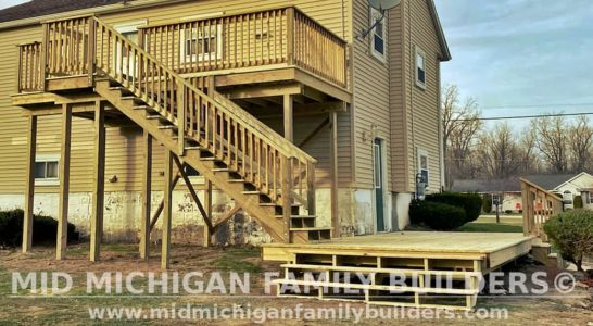 Mid Michigan Family Builders Deck Project 11 2020 01 03