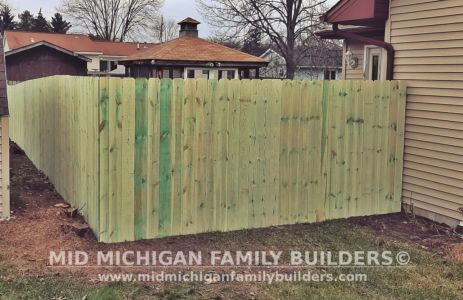 Mid Michigan Family Builders Fence Project 01 2020 01 01