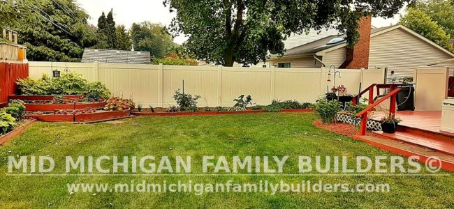 Mid Michigan Family Builders Fence Project 06 2021 08