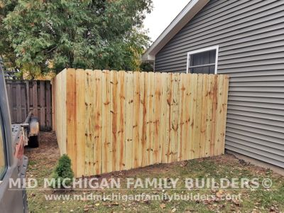 Mid Michigan Family Builders Fence Project 10 2020 02 01