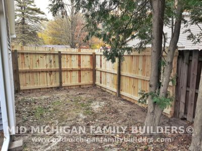 Mid Michigan Family Builders Fence Project 10 2020 02 02