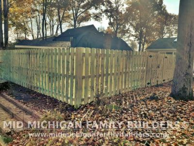 Mid Michigan Family Builders Fence Project 10 2020 03 01