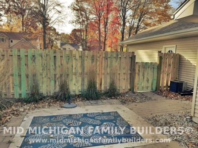 Mid Michigan Family Builders Fence Project 10 2020 03 04