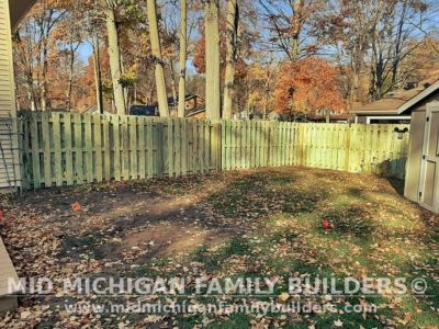 Mid Michigan Family Builders Fence Project 10 2020 03 05