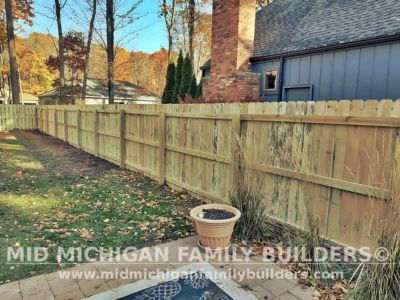 Mid Michigan Family Builders Fence Project 10 2020 03 06
