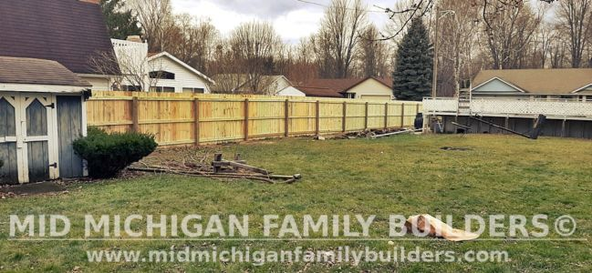 Mid Michigan Family Builders Fence Project 11 2020 01 02