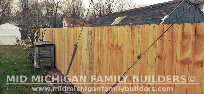 Mid Michigan Family Builders Fence Project 11 2020 01 04