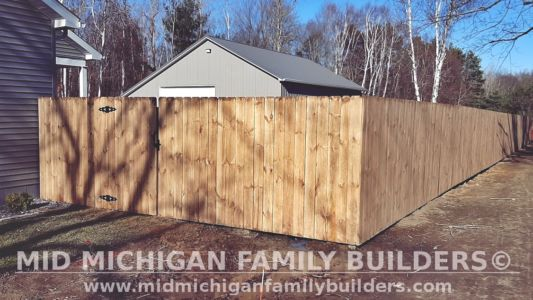 Mid Michigan Family Builders Fence Project 11 2020 02 01