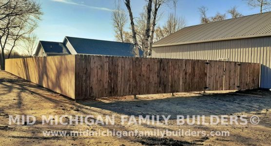 Mid Michigan Family Builders Fence Project 11 2020 02 02