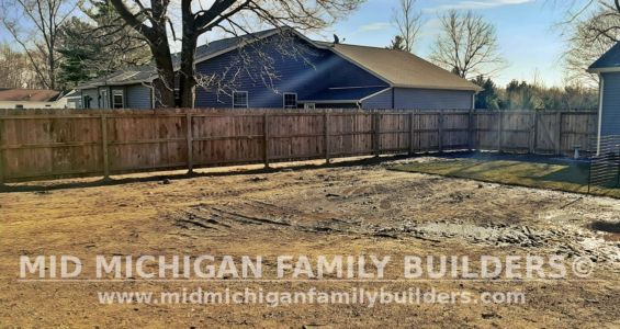 Mid Michigan Family Builders Fence Project 11 2020 02 04
