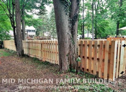Mid Michigan Family Builders New Fence Project 07 2021 04 04