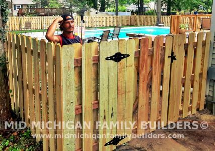 Mid Michigan Family Builders New Fence Project 07 2021 04 09 1