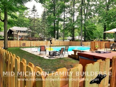 Mid Michigan Family Builders New Fence Project 07 2021 04 10