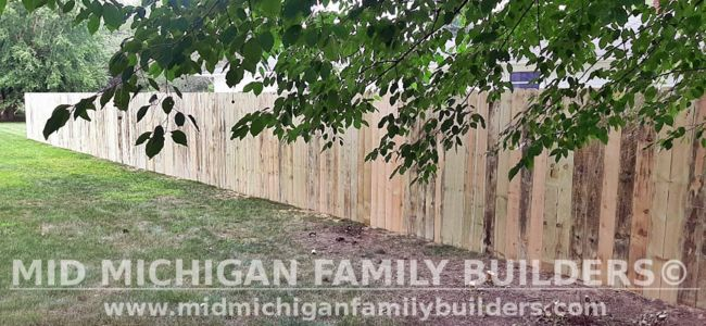 Mid Michigan Family Builders New Fence Project 08 2021 05 01