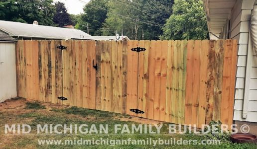 Mid Michigan Family Builders New Fence Project 08 2021 05 02
