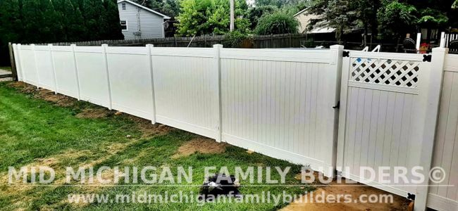 Mid Michigan Family Builders New Fence Project 08 2021 06 02