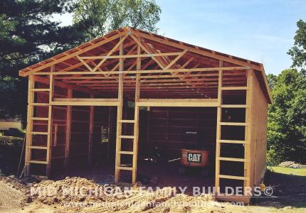Mid Michigan Family Builders Pole Barn Project 08 2019 01 02