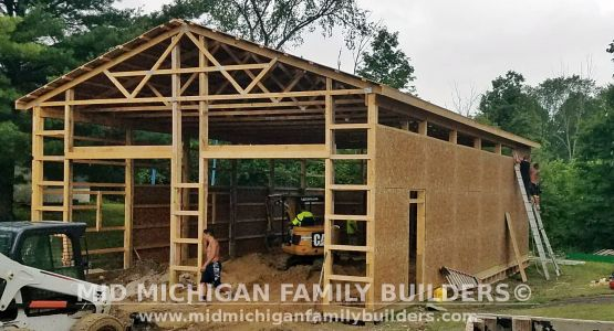 Mid Michigan Family Builders Pole Barn Project 08 2019 01 03