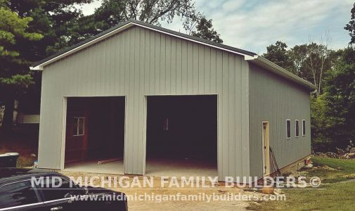 Mid Michigan Family Builders Pole Barn Project 08 2019 01 05