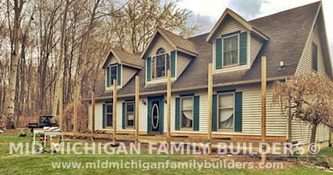 Mid Michigan Family Builders Roof Porch Deck Project 05 2021 01 05