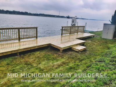 Mid Michigan Family Builders Seawall Deck Project 07 2020 02 04