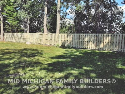 Mid Michigan Family Builders Shadow Box Fence Project 07 2020 02 02