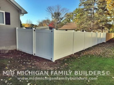 Mid Michigan Family Builders Vinyl Fence Project 10 2020 01 01