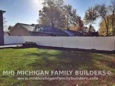 Mid Michigan Family Builders Vinyl Fence Project 10 2020 01 03