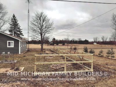 Mid Michigan Family Builders Wooden Fence Project 03 2020 01 03