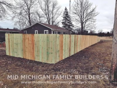 Mid Michigan Family Builders Wooden Fence Project 03 2020 01 06