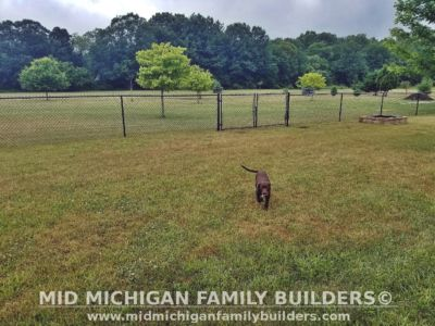 Mid Michigan family Builders Chain Link Fence Project 07 2020 03 01