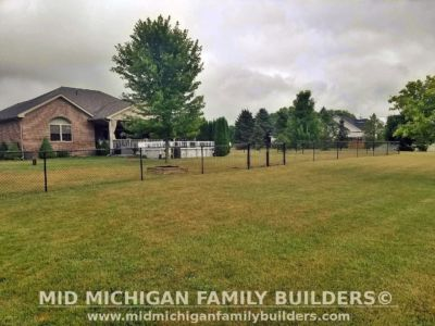 Mid Michigan family Builders Chain Link Fence Project 07 2020 03 04